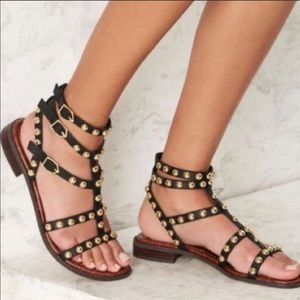🆕💎EUC Sam Edelman studded gladiator sandals